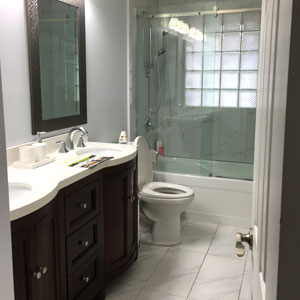 Finished Bathroom - Dove Reno