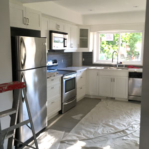 Finished Kitchen - Dove Reno