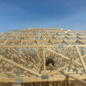 Finished Roof Truss - Dove Reno